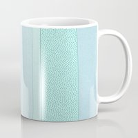 polkadot Mugs featuring Polkadot Madness by Anita Ivancenko