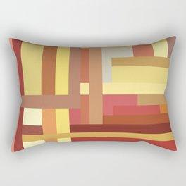 Marigold Stripes Rectangular Pillow