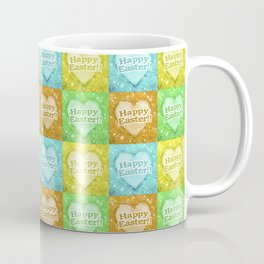 Colorful Happy Easter Theme Pattern Coffee Mug