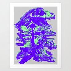 Jurassic Fun Art Print