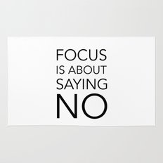 Focus is about.... Rug