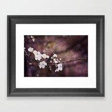 Purple Spring Framed Art Print