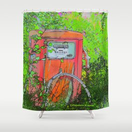 Fill'r Up Please! Shower Curtain