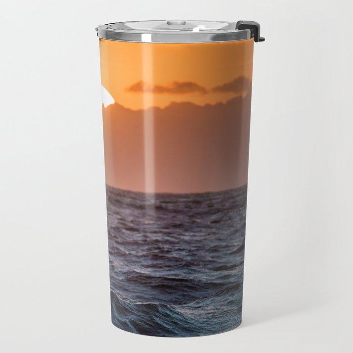 Churning Ocean Travel Mug