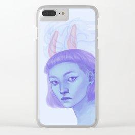 自業自得 Clear iPhone Case