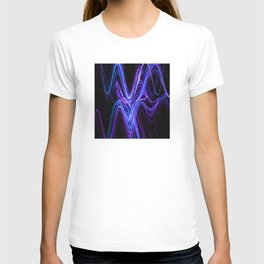 Frenetic Energy Abstract Graphic Design T-shirt