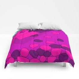 Sugar Crash No. 3: Nerds Invasion Comforters