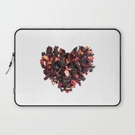 petals tea formed in heart shape Laptop Sleeve
