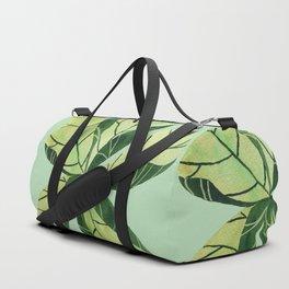 Leaf flower Duffle Bag