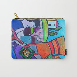 At The Villa  http://www.ebbio.com/index.htm    (ORIGINAL SOLD) #society6 #decor #buyart Carry-All Pouch
