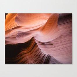 Curves. Antelope Canyon, Arizona. Canvas Print