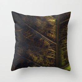 Leaf Three Throw Pillow