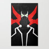 spawn Canvas Prints featuring Spawn by theLinC