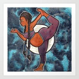 Full Moon Dancer Art Print