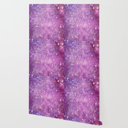 Sparkly Pinky Purple Aura Crystals Wallpaper