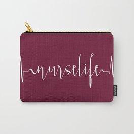 Nurse Life Carry-All Pouch