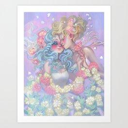 Haruka x Michiru Art Print