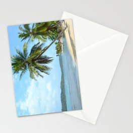 The Caribbean beach 01 Stationery Cards