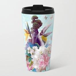 FLORAL HORNBILL / RIO Travel Mug