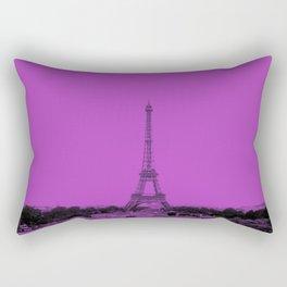 Paris Eiffel Tower Series V by Billy Bernie Rectangular Pillow