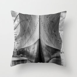 Battleship Throw Pillow