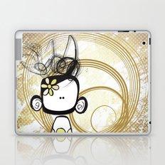 swirl girl Laptop & iPad Skin