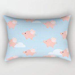 When Pigs Fly Rectangular Pillow