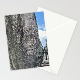 Chakra Detail on Naga Sculpture, Angkor Wat Stationery Cards