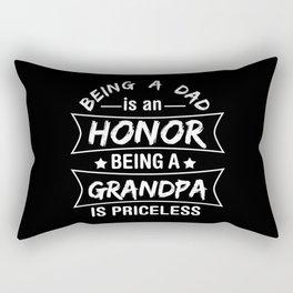 Proud Grandpa Rectangular Pillow