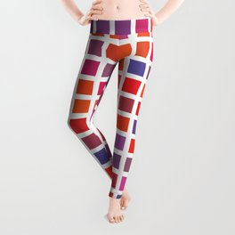 City Blocks - Love #947 Leggings