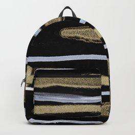 Golden splash Backpack