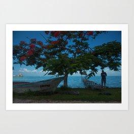 Tropics Beauty Art Print