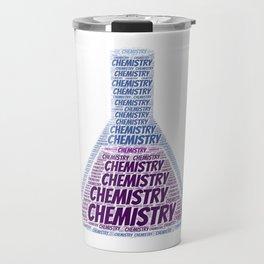 Chemistry Word Cloud Travel Mug