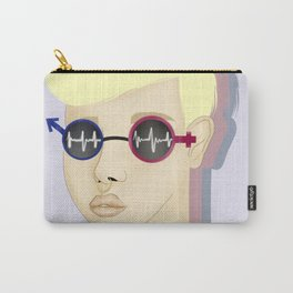 Gender Fluid - LGBT Illustration Carry-All Pouch