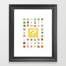 Power Ups! Framed Art Print
