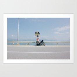 Beach Trip Escape Art Print