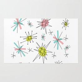 Atomic print Rug
