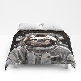 Astronaut Sloth Selfie Comforters