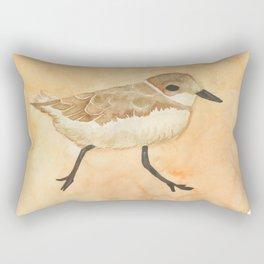 Sand Plover Rectangular Pillow