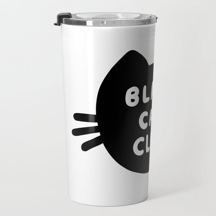 Black Cat Club Travel Mug