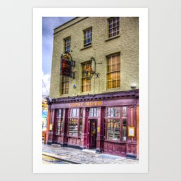 The  Gypsy Moth Pub Greenwich Art Print