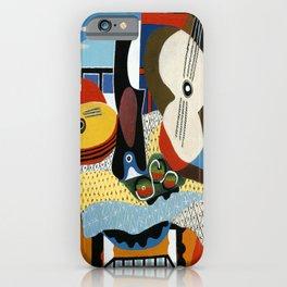 Pablo Picasso Mandolin and Guitar iPhone Case