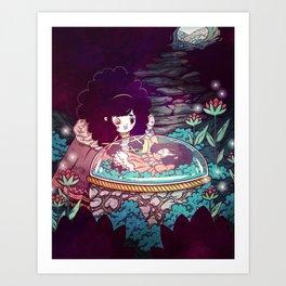 Sisters 4/5 Art Print