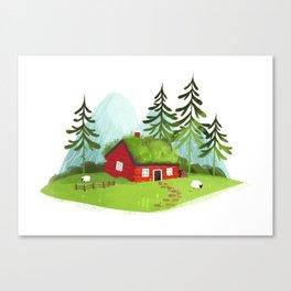 Lodge Canvas Print