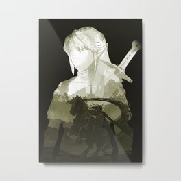 Hero of the land Metal Print