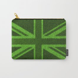 Grass Britain / 3D render of British flag grown from grass Carry-All Pouch