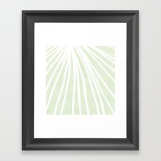 Dandelions in Mint by Friztin Framed Art Print