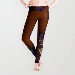 Mandelbrot - Copper Leggings