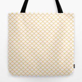 Gold squama Tote Bag