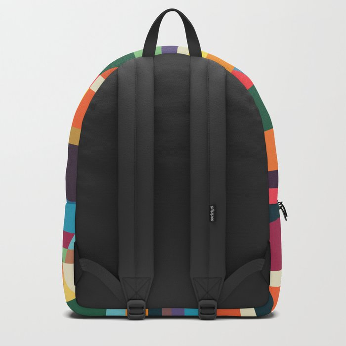 The hills run to infinity Backpack